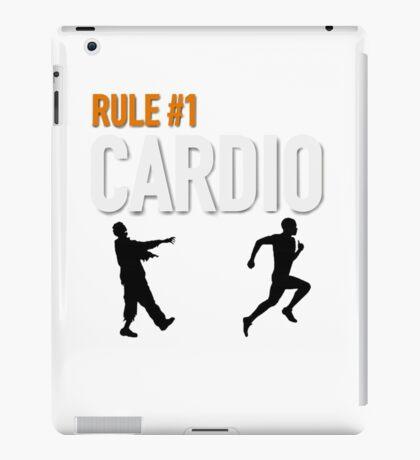 RULE #1 CARDIO iPad Case/Skin