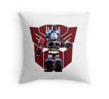 Transformers optimus prime deformed Throw Pillow