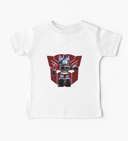 Transformers optimus prime deformed Baby Tee