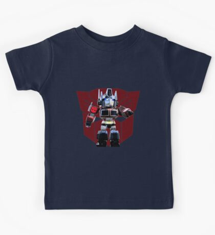 Transformers optimus prime deformed Kids Tee