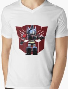 Transformers optimus prime deformed Mens V-Neck T-Shirt