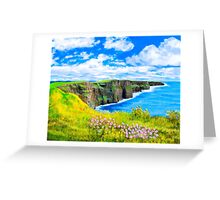 Cliffs of Moher - Fairytale Ireland Greeting Card