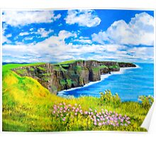 Cliffs of Moher - Fairytale Ireland Poster