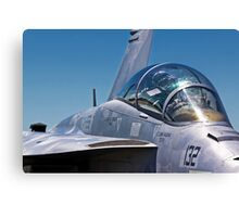 Fighter Jet II Canvas Print