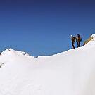 Two Climbers by Xandru