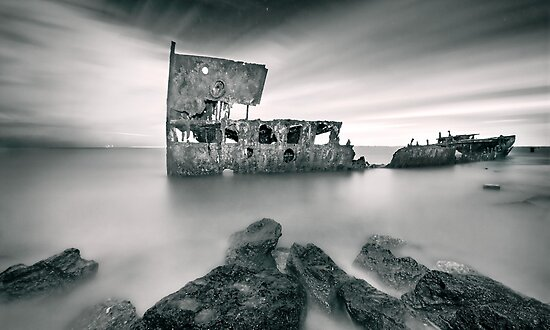 Wreck of the SS Gayundah by Ben Ryan