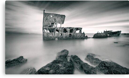 Wreck of the SS Gayundah by Ben Ryan