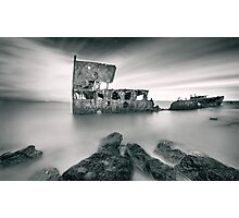 Wreck of the SS Gayundah Photographic Print