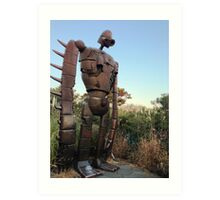 Robot from Castle in the Sky Art Print
