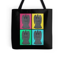Weeping Angels Pop Art Tote Bag