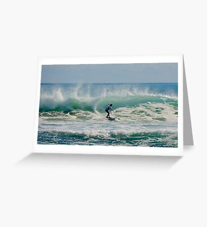 Australia Surfer Greeting Card