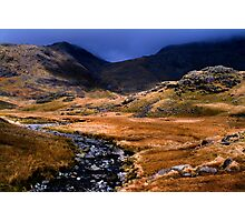 Upper Eskdale - The Lake District Photographic Print