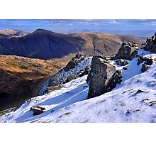 Ill Bell from Red Screes - The Lake District Photographic Print