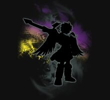 Super Smash Bros Dark Pit Silhouette Unisex T-Shirt