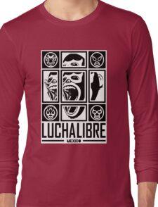 LUCHALIBRE MEXICO Long Sleeve T-Shirt