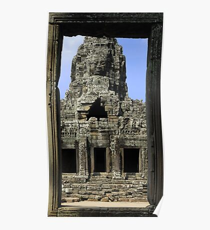 A door on Angkor Poster