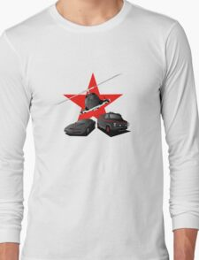 80's Heroes Long Sleeve T-Shirt