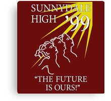 Sunnydale High Yearbook Canvas Print