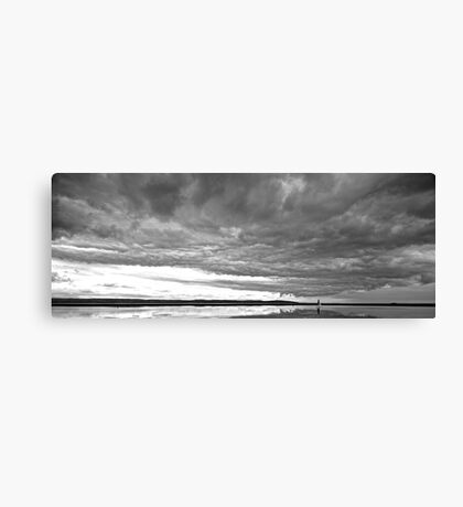 Monochrome Reflection Canvas Print