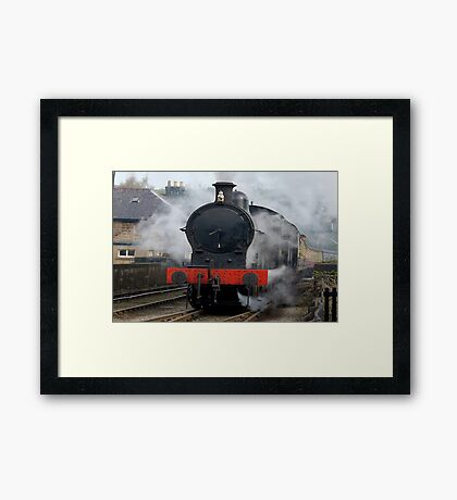 Smoke Gets In Your Eyes Framed Print