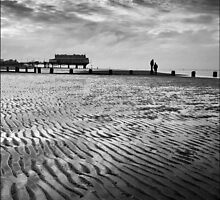 Cleethorpes Beach and Pier, Lincolnshire by DaveTurner