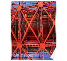 Structural Steel of the Golden Gate Bridge Poster