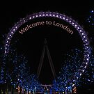 Welcome to London by Audrey Clarke