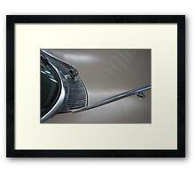 Arial Framed Print