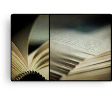 the book club Canvas Print