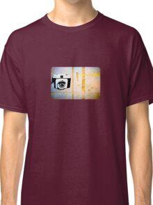 Camera Graffiti Classic T-Shirt