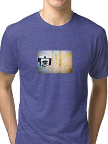 Camera Graffiti Tri-blend T-Shirt