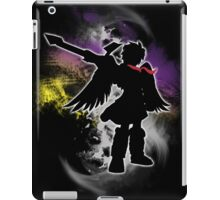 Super Smash Bros White Dark Pit Silhouette iPad Case/Skin