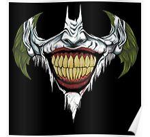 batman joker logo Poster