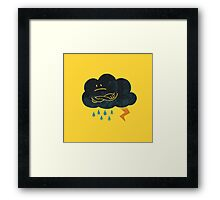Sombre Weather Framed Print