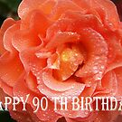 90th Birthday Rose  by Coloursofnature