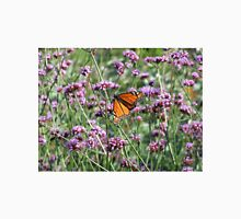 monarch butterfly on lavender Unisex T-Shirt