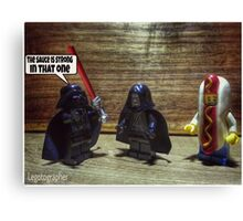 The sauce is strong Canvas Print