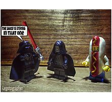 The sauce is strong Photographic Print