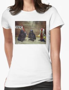 The sauce is strong Womens Fitted T-Shirt
