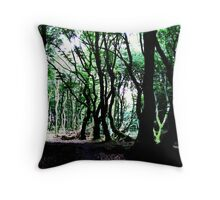 The Forest Of The Trolls Throw Pillow