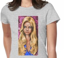 Sombras e Destaques Womens Fitted T-Shirt