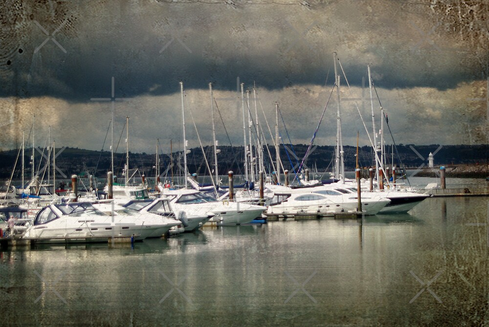 Storm Clouds over Brixham by Catherine Hamilton-Veal  ©