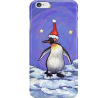 Penguin Christmas iPhone Case/Skin