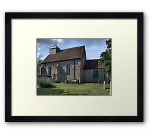 St.Rumwold. Framed Print