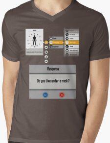 Sword Art Online Menu Mens V-Neck T-Shirt