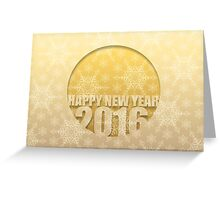 Happy New Year 2016 # 4 - Greeting Cards Greeting Card