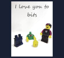 Lego love you to bits One Piece - Short Sleeve