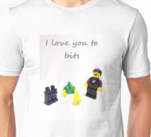 Lego love you to bits Unisex T-Shirt