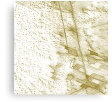 desert settlement Canvas Print