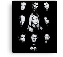 Buffy Cast Canvas Print